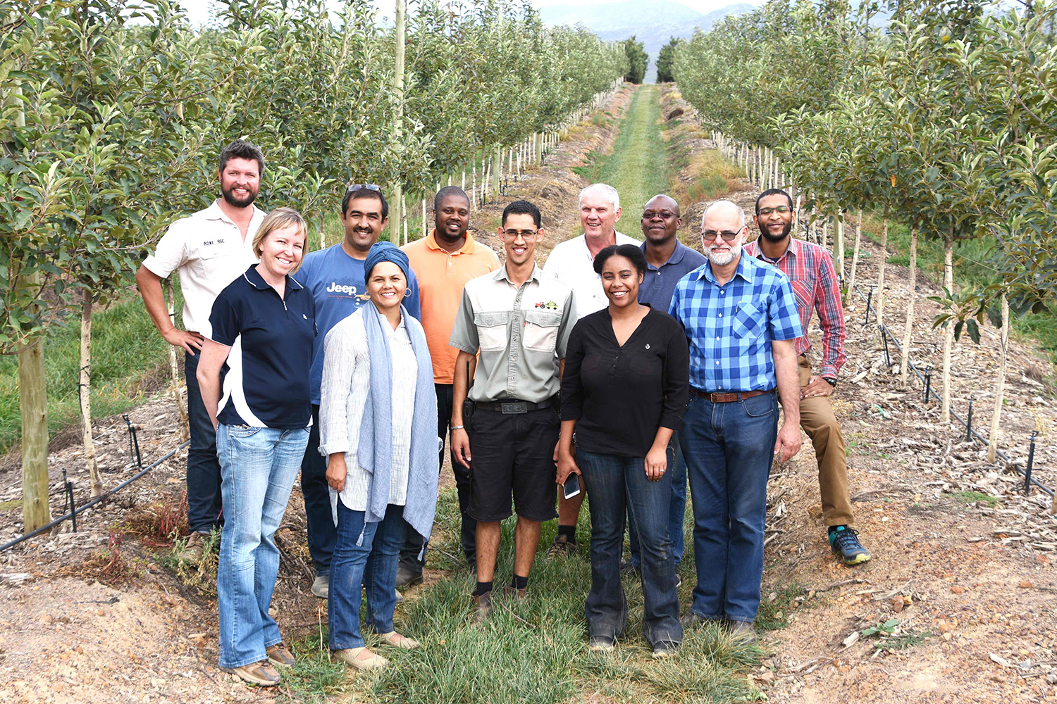 Cortina Farm Visit By Jobs Fund Group