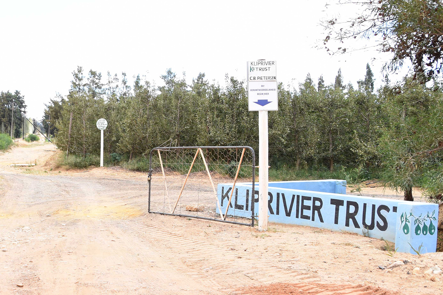 Kliprivier Entrance